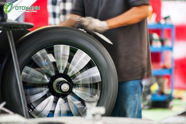 Cân bằng động bánh xe